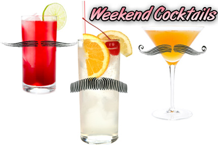 Your Weekend Cocktails - Movember cocktails - mustache